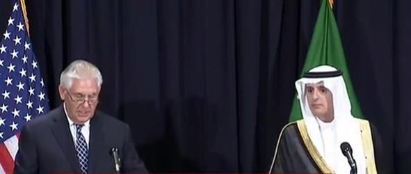 الجبير: المباحثات بين الرئيس ترامب والملك سلمان تطرقت إلى العمل على إلزام إيران بوقف دعمها للإرهاب