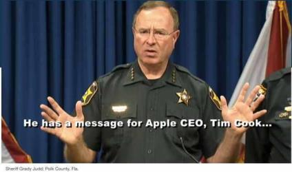 florida sheriff apple ceo