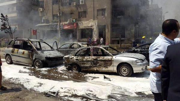 مقتل النائب العام المصري تفجير