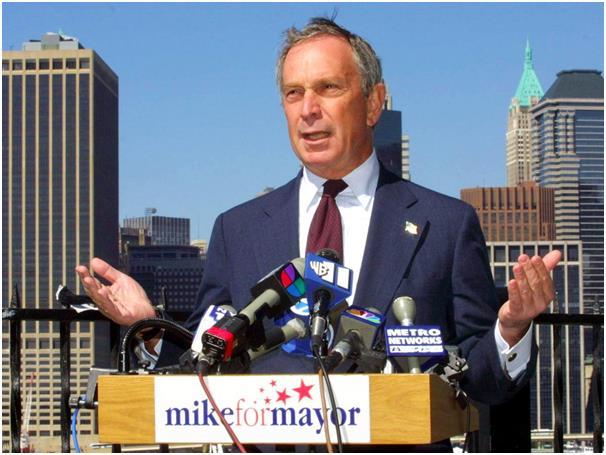 عمل عمدة لنيويورك لمدة 12 عامًا، تلقى خلالها راتب دولار واحد فحسب سنويًا، وساهم في بناء المدينة بعد أحداث 11 سبتمبر.