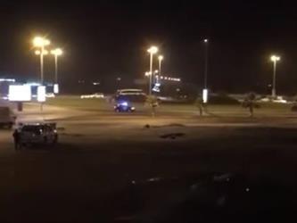 """شاهد.. """"شرطة الأحساء"""" تقتل مواطنا أطلق النار على شخصين وهاجم رجال الأمن.. وتوضح الملابسات"""