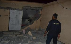 قذيفة حوثية تسقط منزل بالطوال