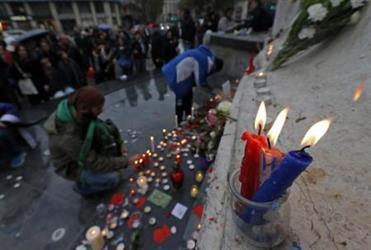 مراسم إحياء الذكرى الأولى لهجمات باريس