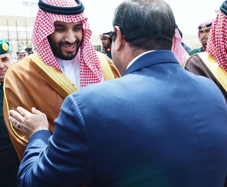 السيسي يصل الرياض