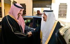 تركي بن عبدالله يتقدم مستقبلي أمير الرياض فيصل بن بندر