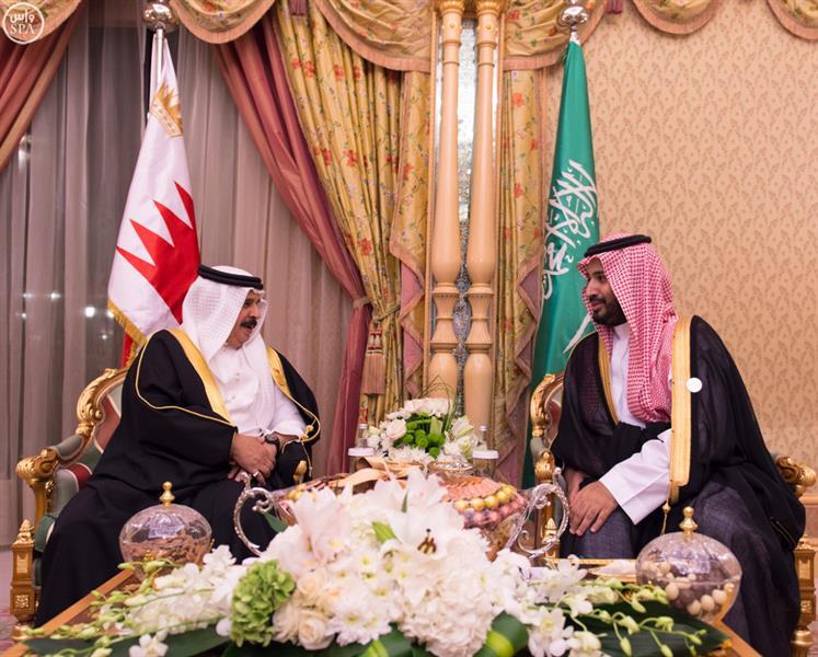 سمو ولي ولي العهد يلتقي ملك البحرين وملك الأردن ودولة رئيس وزراء جمهورية لبنان والرئيس المصري