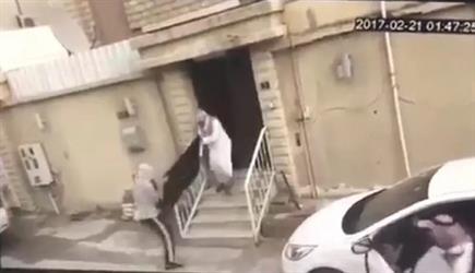 """الكشف عن مفاجأة في مقطع """"سرقة منزل وسيارة مواطن ومطاردته للصوص"""""""