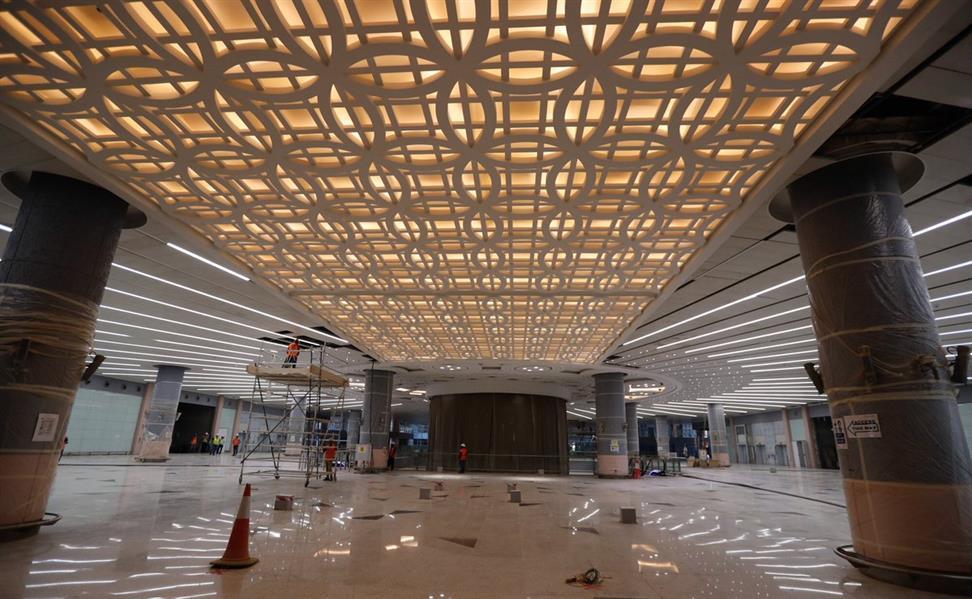 بالصور.. أحدث التطورات في مشروع مطار الملك عبدالعزيز بجدة