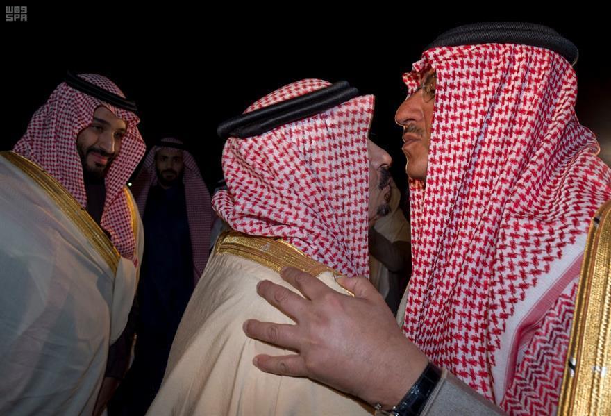 ولي العهد يصل إلى الرياض قادماً من خارج المملكة...