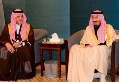 ولي العهد و الأمير سعود الفيصل