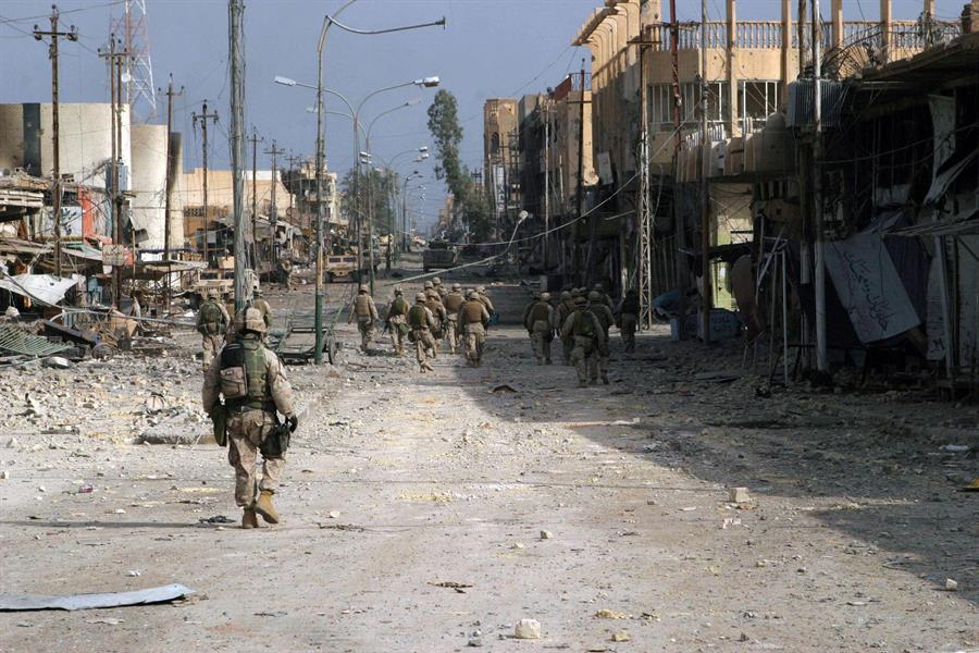 داعش يعلن مسؤوليته عن هجوم على القوات الأمريكية غربي الموصل