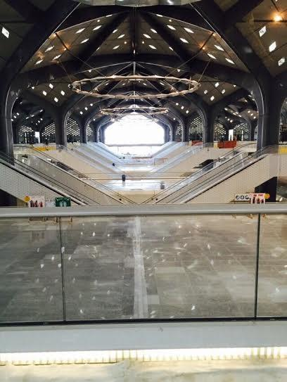 بالفيديو والصور..  محطة قطار الحرمين بجدة في مراحلها الأخيرة
