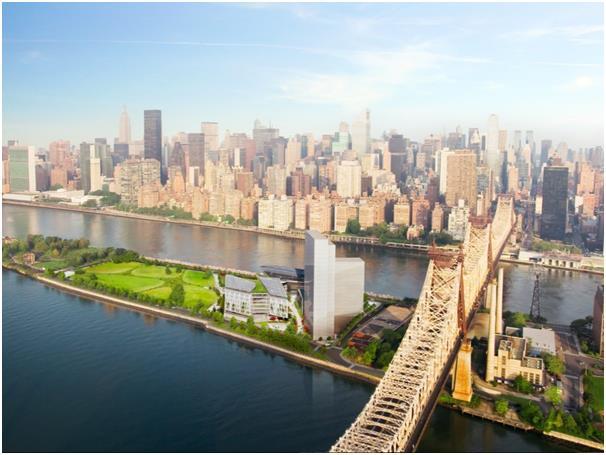 كما تبرع بـ100 مليون دولار لبناء حرم جامعة كورنيل للتكنولوجيا الجديدة في جزيرة روزفلت في نيويورك.