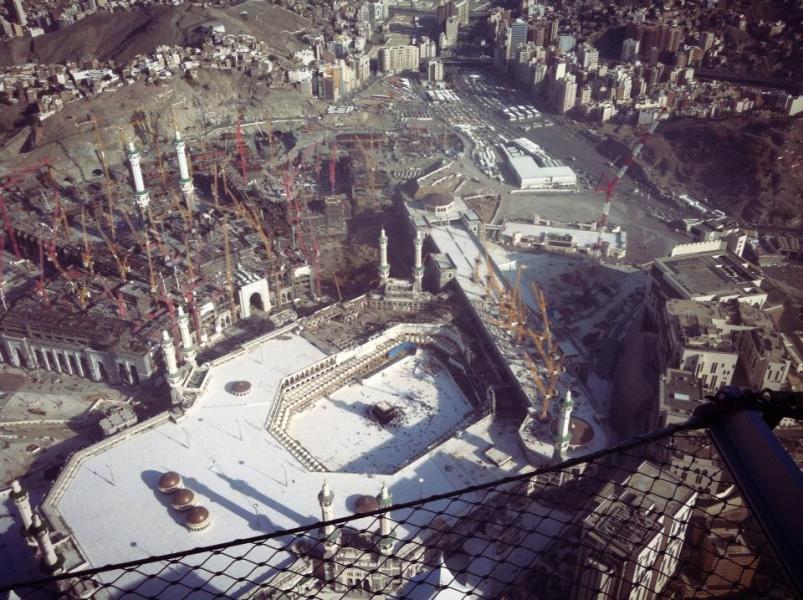 بالصور والفيديو: أعمال الهدم داخل المسجد الحرام لتوسعة المطاف 659dfe8a-e945-4f3b-a