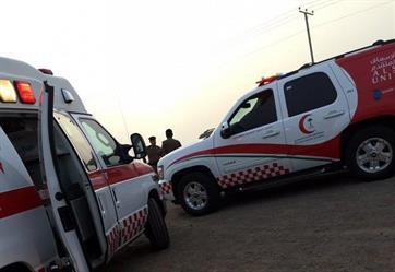 إسعاف القصيم يسعف 14 مصابا إندونيسيا إثر إنكفاء حافلتهم