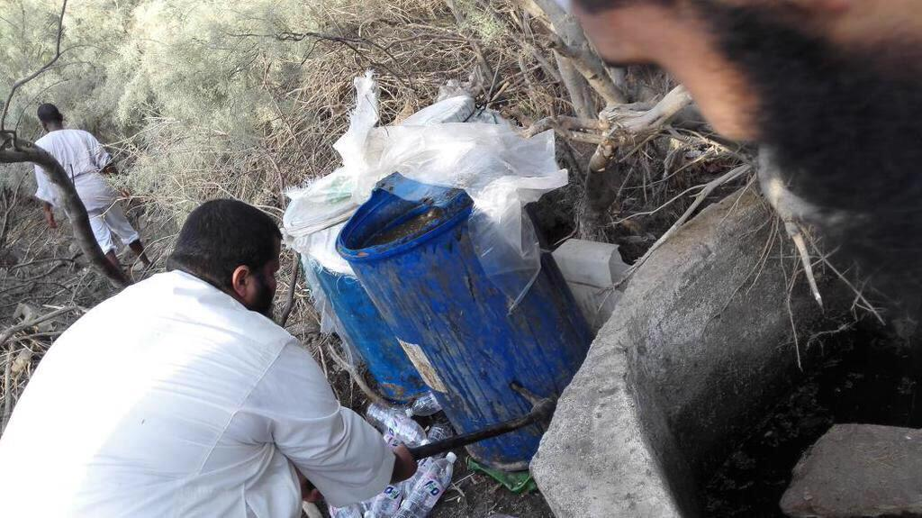 بالصور.. دهم مصانع خمور بجدة والإطاحة بإثيوبيين وسعوديين