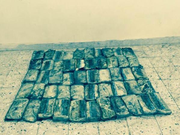 إحباط محاولة تهريب 114 كيلو حشيش مخدر بالقنفذة