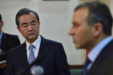 الصين تدعو المجتمع الدولي لحل القضيتين السورية والفلسطينية