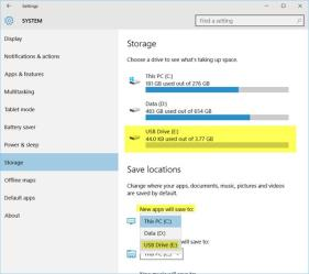 windows 10 apps save location