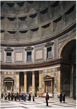 مبنى معبد البانثيون في روما