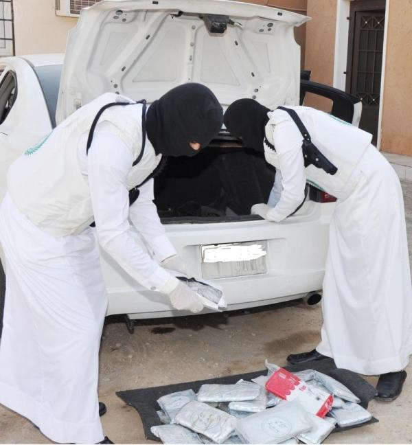 بالصور : وزارة الداخلية تُعلن ضبط كميات كبيرة من المخدرات