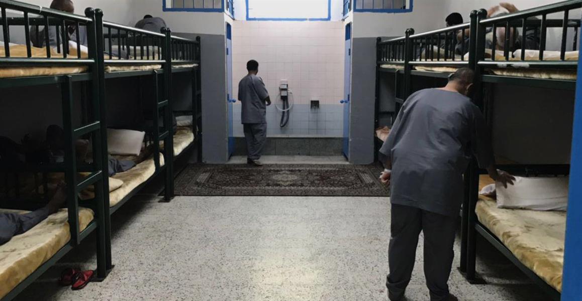 صور من حياة السجناء داخل سجن بريمان: