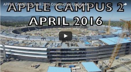 apple campus april