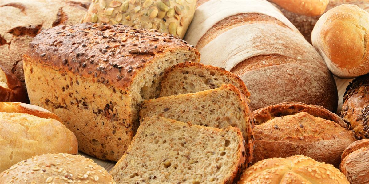 6) الخبز: