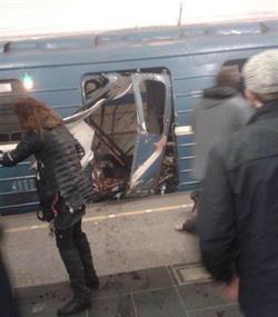 """التعرف على هوية منفذ هجوم """"سان بطرسبورغ"""" بروسيا.. انتحاري من أصول قيرغيزية"""
