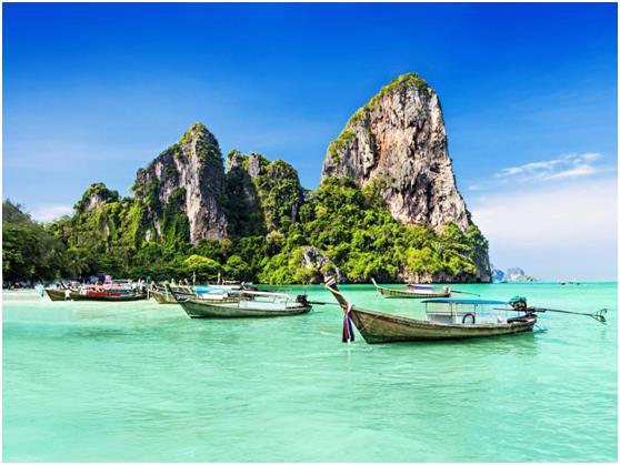 أما المركز العاشر والأخير فذهب لتايلاند, والتي يزورها سنويًا 26.5 مليون زائر .
