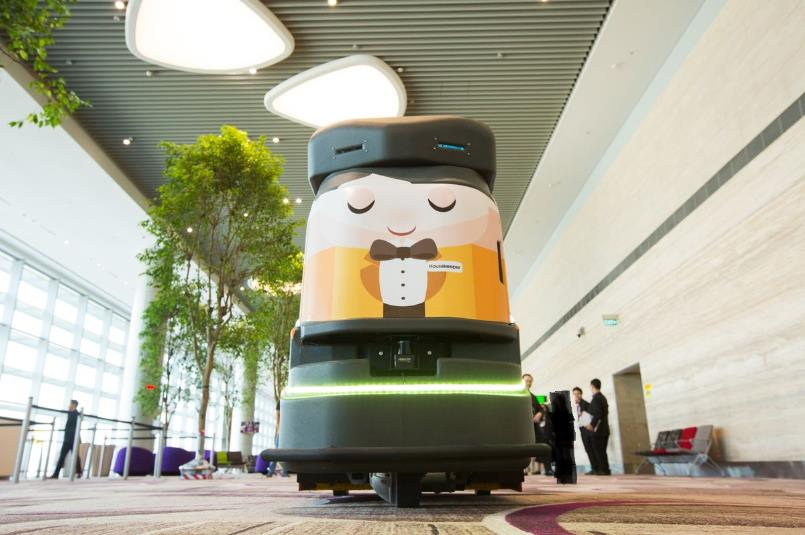 """بالصور: من """"الروبوت"""" إلى تسلية المسافرين..أفضل مطار في العالم يشهد تحديثات جديدة"""