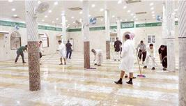 ترميم مسجد الإمام علي في 4 أيام