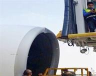 حادث عرضي لطائرة تابعة للخطوط السعودية بمطار الملك خالد بالرياض - صور