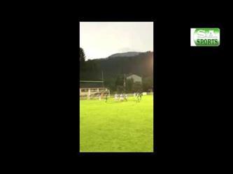 من كرة ثابتة : السومة يسجل هدف رائع في مباراة بيشافز هوفن الودية