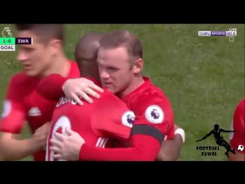 مانشستر يونايتد ( 1 - 1 ) سوانسي سيتي الدوري الانجليزي الممتاز