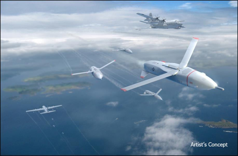 طائرة كبيرة لإطلاق طائرات درون