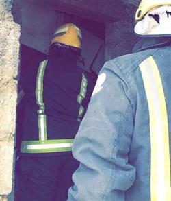 وفاة مقيم وإصابة مواطن إثر انهيار سقف غرفة تحت الإنشاء بالأحساء