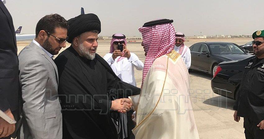 مقتدى الصدر يزور السعودية.. والسبهان في استقباله
