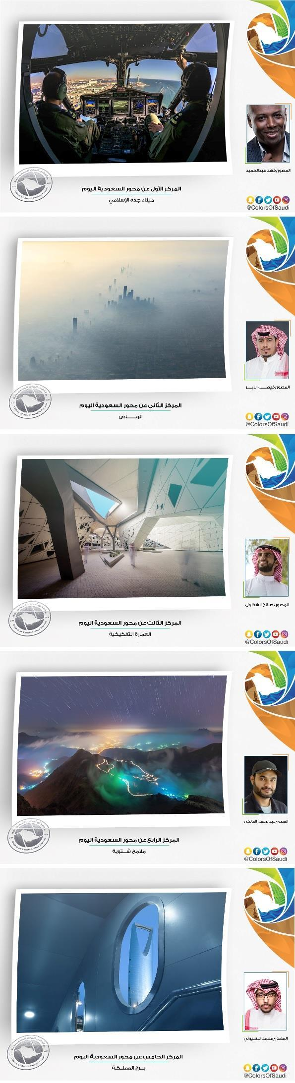 """شاهد أجمل الصور الفائزة بمسابقة """"ألوان السعودية"""".. مناظر طبيعية وتراثية وسياحية بديعة"""