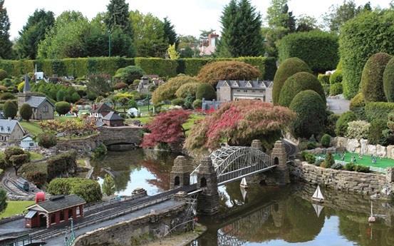 """حديقة """"بيكون سكوت"""" في مدينة """"باكينجهامشير"""" البريطانية"""