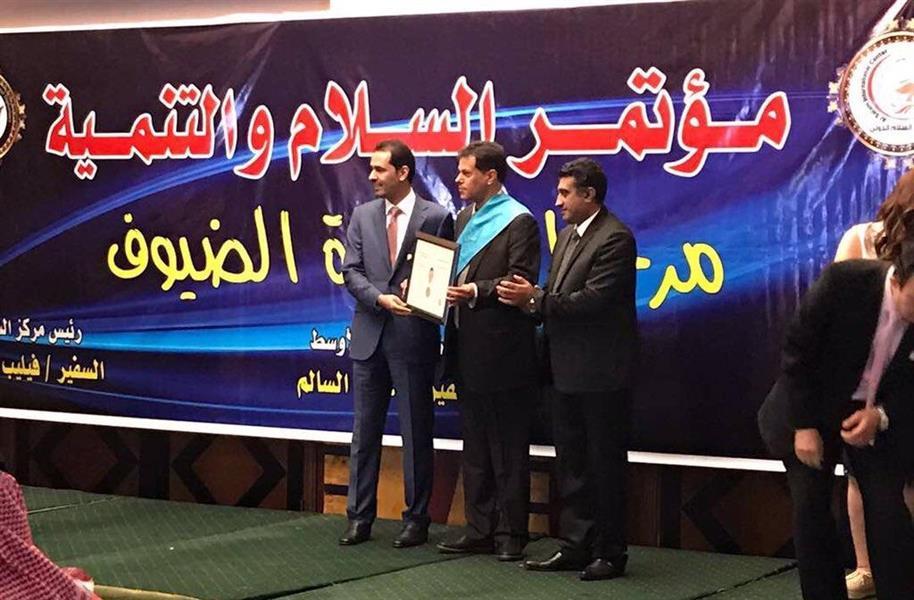 فهد المدلج سفيراً لحقوق الانسان والنوايا الحسنة