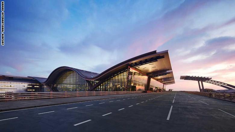 6. مطار حمد الدولي في الدوحة، قطر