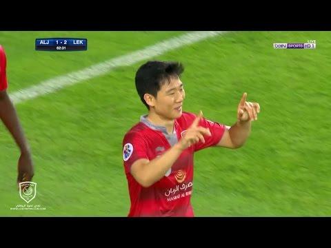 الجزيرة الإماراتي ( 1 - 3 ) لخويا القطري دوري أبطال آسيا