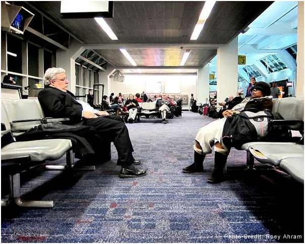 """10- مطار """"مدينة نيويوك لاجوارديا"""" - الولايات المتحدة الأمريكية."""
