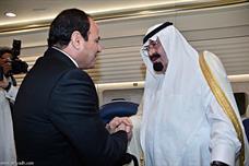 الرئيس السيسي والملك عبدالله