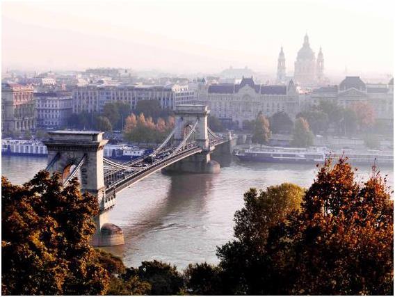 بودابست في المجر، وتبلغ تكلفة الفرد في المتوسط خلال يوم: 57,01 دولار.