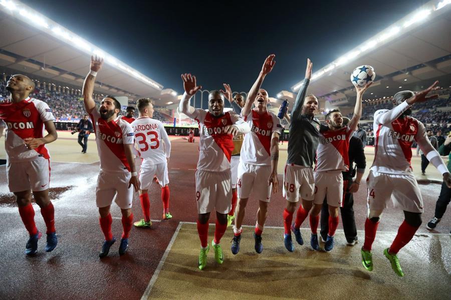 موناكو يؤكد تفوقه على #دورتموند بالثلاثة