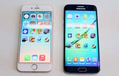iphone 6 vs samsung galaxy s6 edge