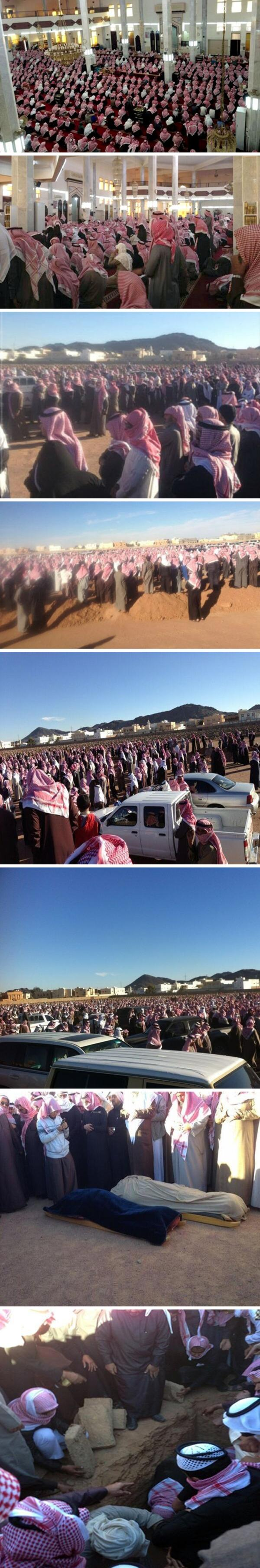 صور من تشييع الجنازة