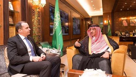 ولي العهد يلتقي بمبعوث الرئيس الأمريكي للتحالف الدولي ضد تنظيم داعش